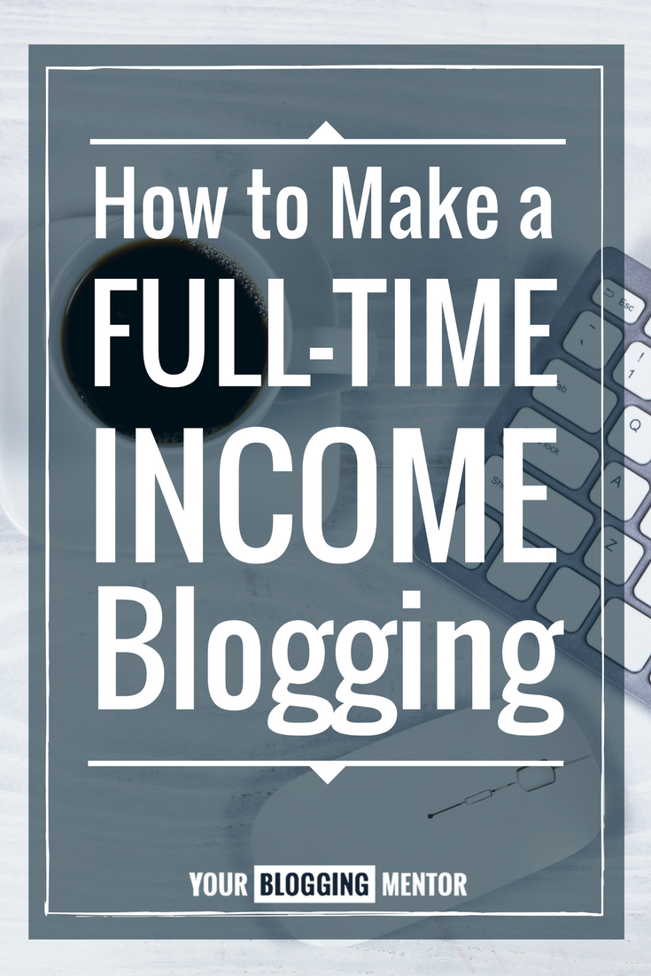 Yes, YOU too can make a full-time income blogging! If I can do it, anyone can. Come on over and hear my story and how you, too, can create a thriving blog!