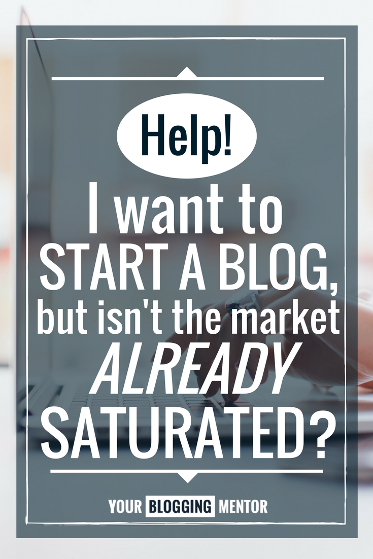 Ever wonder if you've missed the peak of blogging? Could the market really be saturated? If you're thinking about starting a blog, you'll want to read this!
