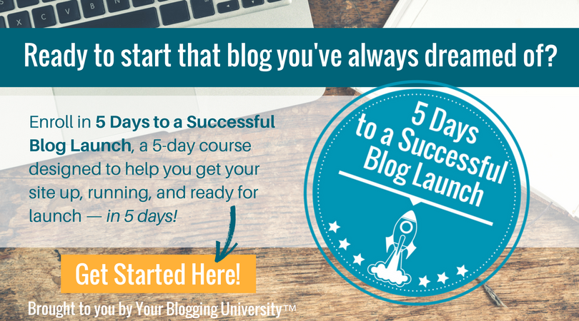 Thinking about starting a blog, but not sure exactly what you need to do it? I've got you covered!
