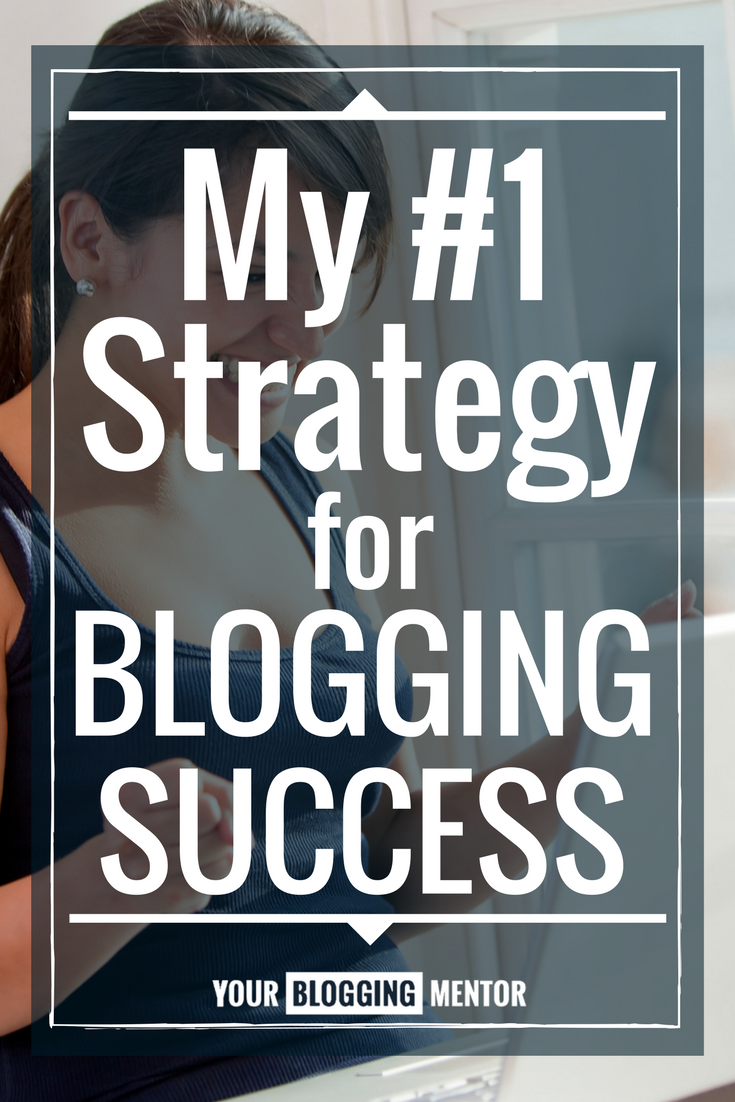 After 12 years of blogging, here's my #1 strategy for blogging success.