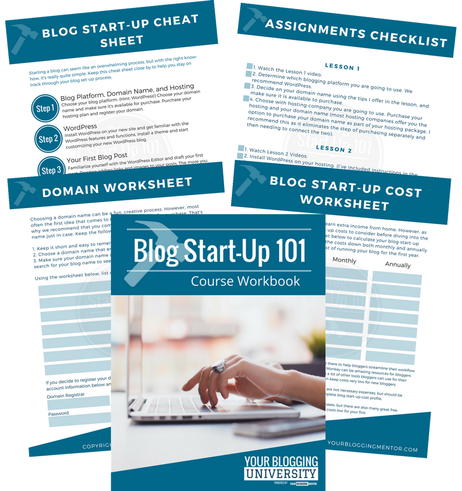 Have a great idea for a blog, but don't know where to start? Find the help you need to get your blog set up with Blog Start-Up 101!