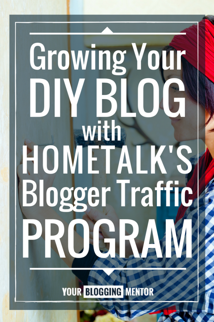 You can grow your DIY blog traffic using Hometalk's blogger traffic program! Find out more here!