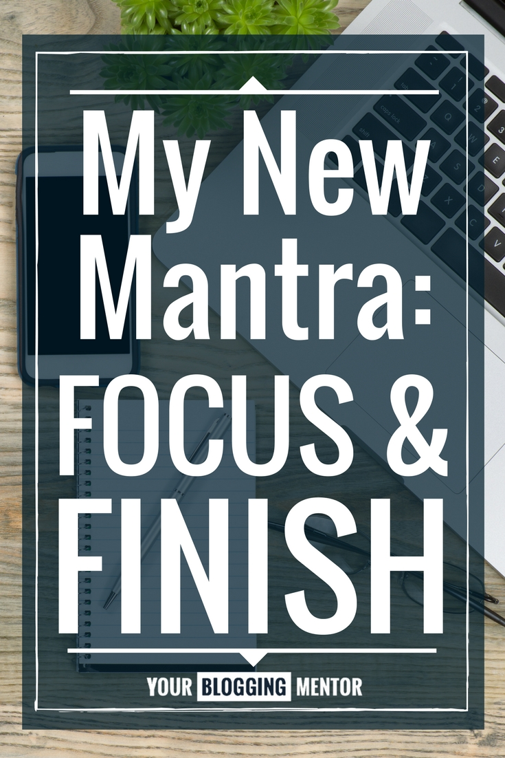 Finding it hard to finish what you set out to do? Here are my 2 tips to help you start following through and accomplish more!