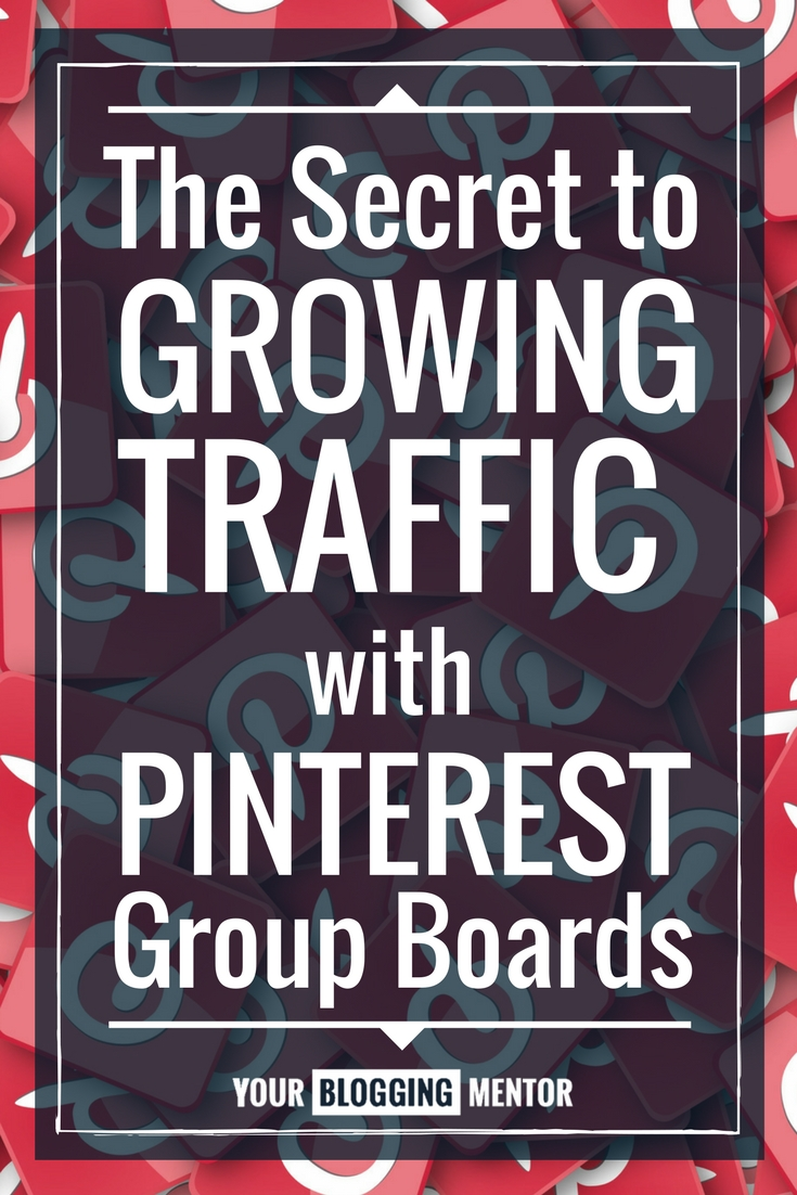 This blogger went from making $.17/month to $10,000/mo from her blog using Pinterest Group Boards! Find out how!