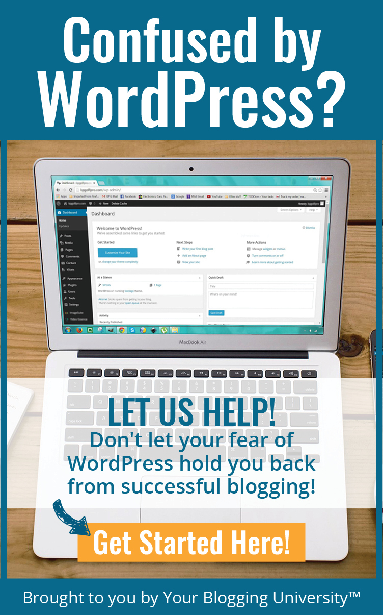WordPress can be really confusing to a new blogger. This is a fantastic resource!