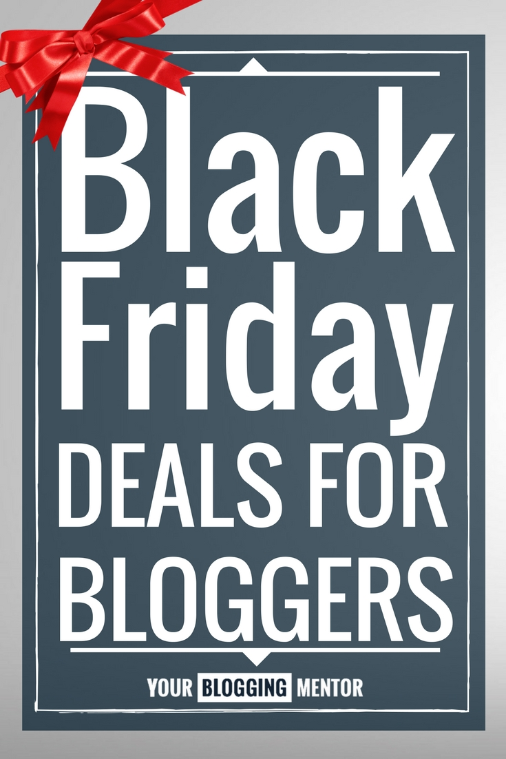 It's Black Friday weekend and that means that there are some amazing deals on some fantastic products for bloggers. We've rounded up some of our very favorites!