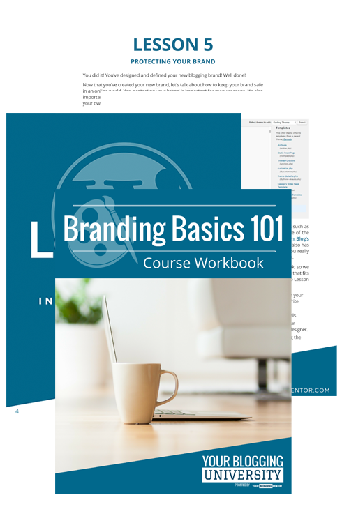 Branding Basics 101 Workbook