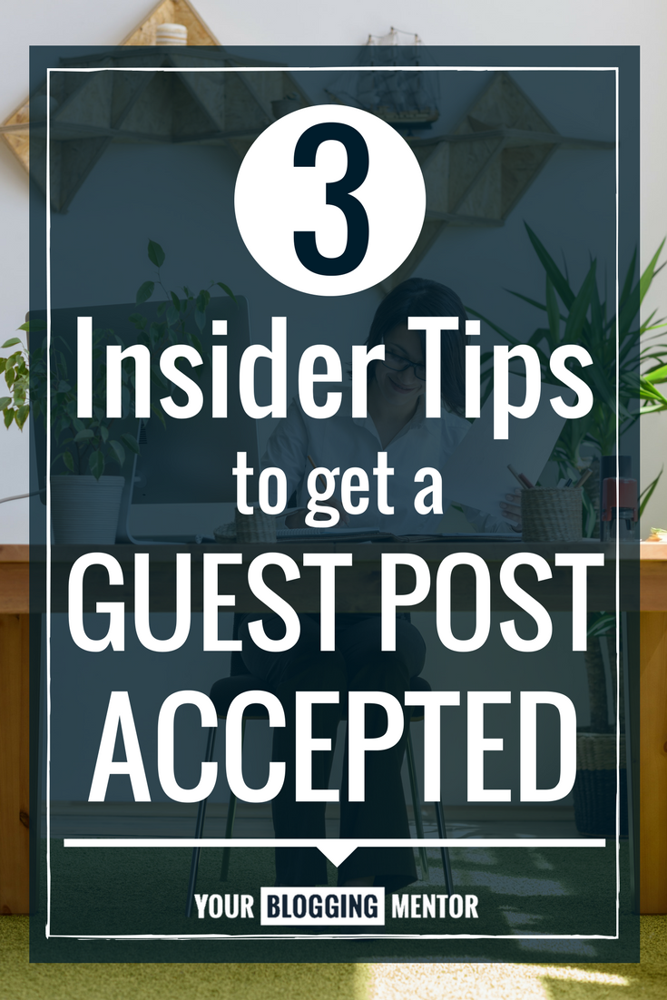 These are solid! Great tips for getting your guest post accepted and published on a blog!