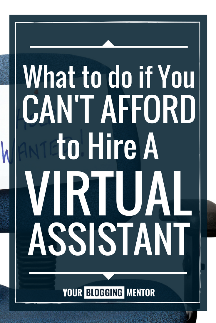 Hiring a virtual assistant can be so expensive for new bloggers. This is a HUGE help!