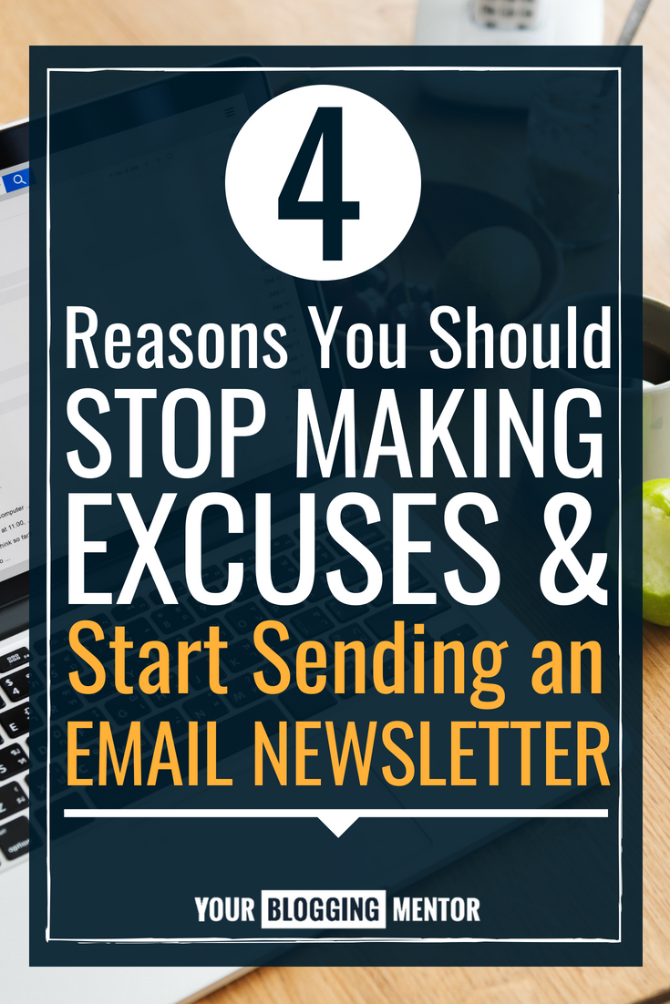 Think you don't really need an email newsletter as a blogger? Actually, an email newsletter can be one of the most important and personal ways to connect with your readers! Here are 4 important reasons to prioritize sending an email newsletter...