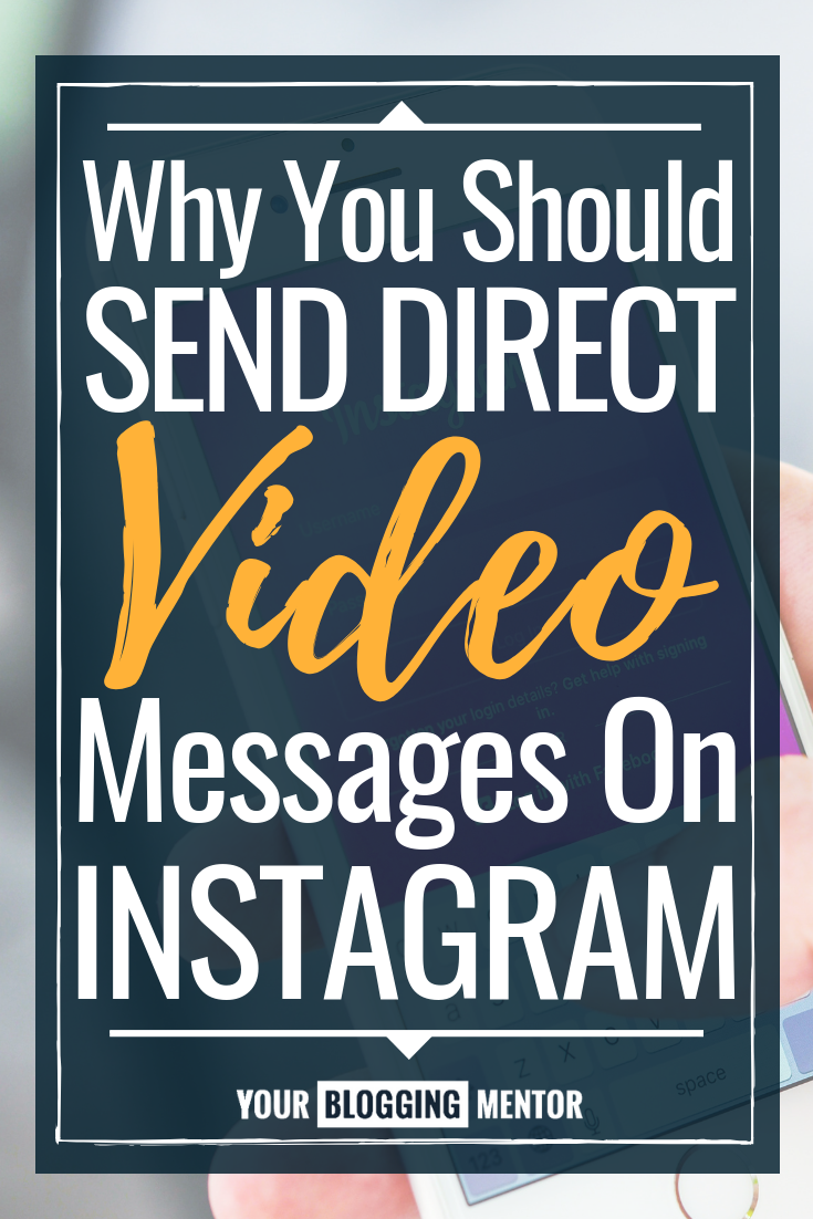 Want to make authentic connections with your audience and increase engagement in a meaningful way on Instagram? Try sending direct video messages!