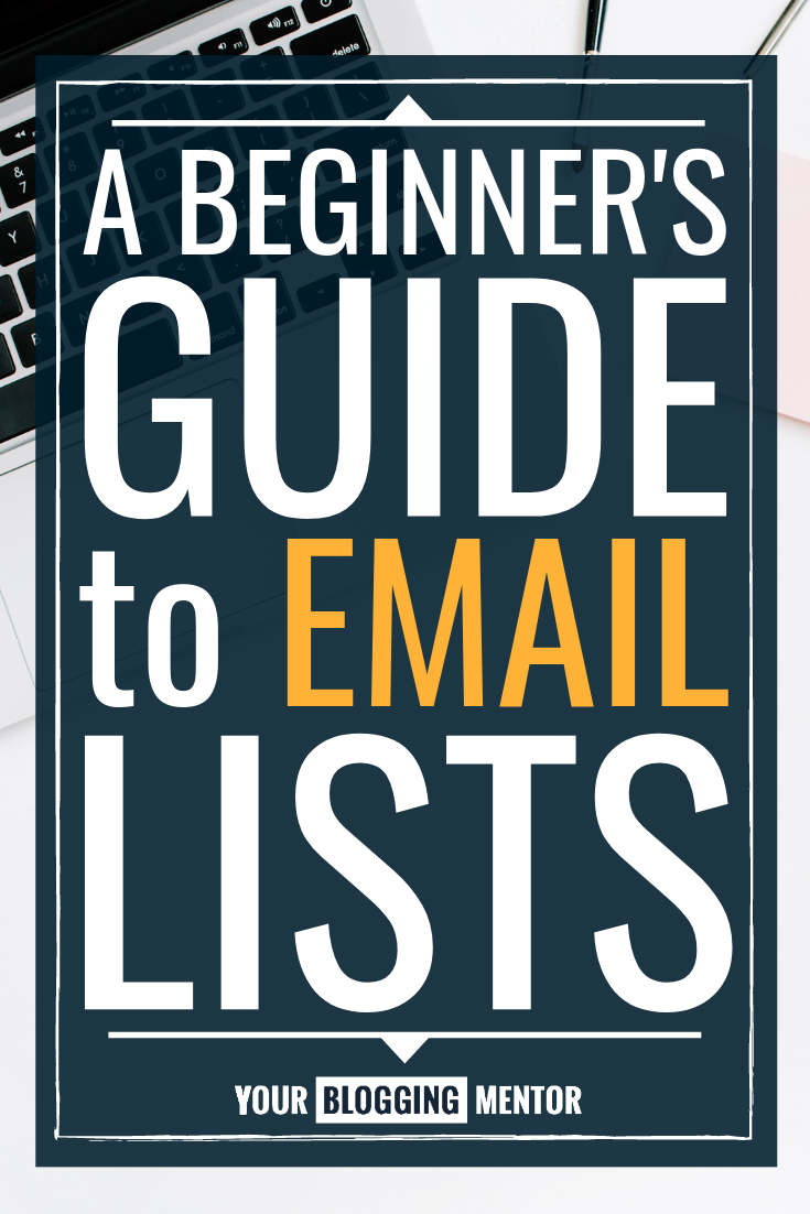 Are you overwhelmed or confused about sending an email newsletter or building your email list? This Beginner's Guide to Email Lists will help you get started!