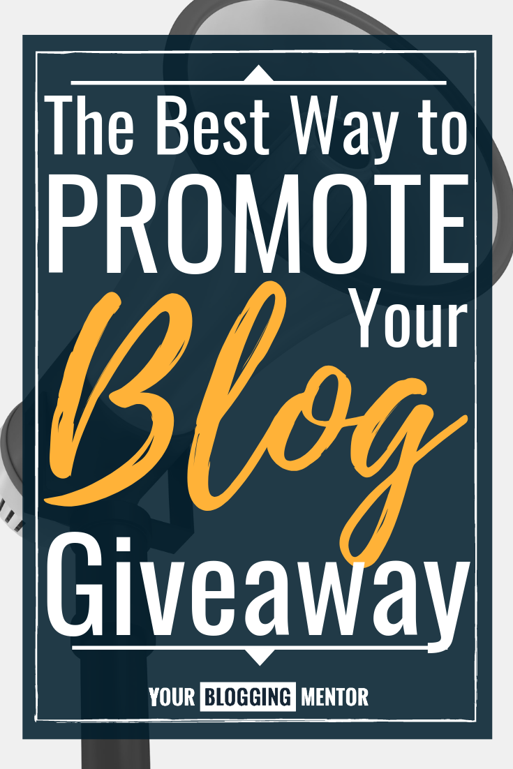 Hosting a blog giveaway and want it to be as successful as possible? Don't miss these expert tips on the best ways to promote a blog giveaway! #blogging #bloggingtips