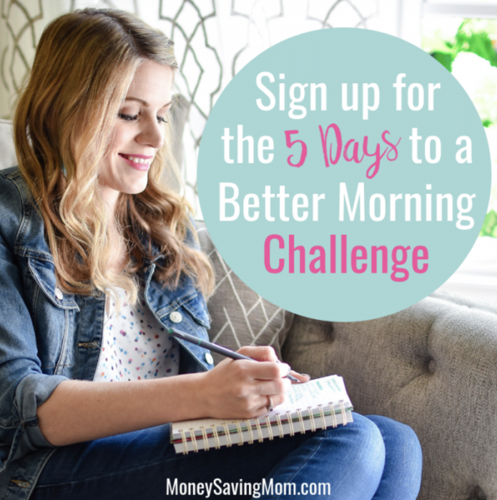 5 Days to a Better Morning Course