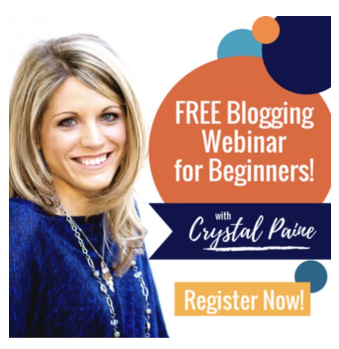 Blogging Webinar for Beginners